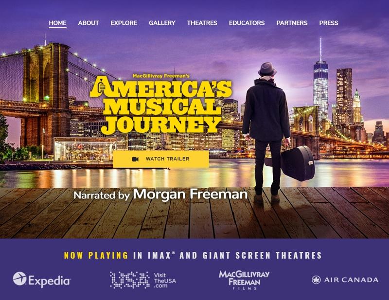 音楽映画「アメリカン・ミュージック・ジャーニー」が日本で11月公開へ、ブランドUSAやエクスペディアがスポンサーに