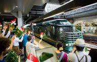豪華列車「トワイライト・エクスプレス瑞風(みずかぜ)」を訪日客が貸切り運行、シンガポールからの旅行者で