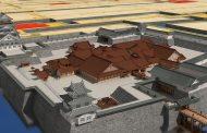 凸版印刷、江戸時代の福井城をVRアプリで復元、古地図と重ねて旧町名との閲覧も可能に