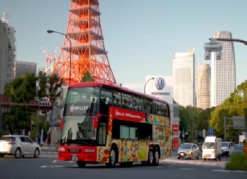 東京で「レストランバス」が通年運行、観光地めぐりと健康志向のフレンチで