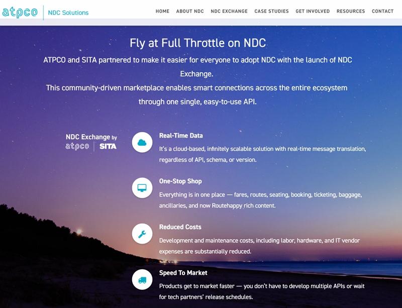 航空業界団体「SITA」らの新NDCプラットフォーム、デルタ航空らが参画、API接続で低コスト導入を強みに