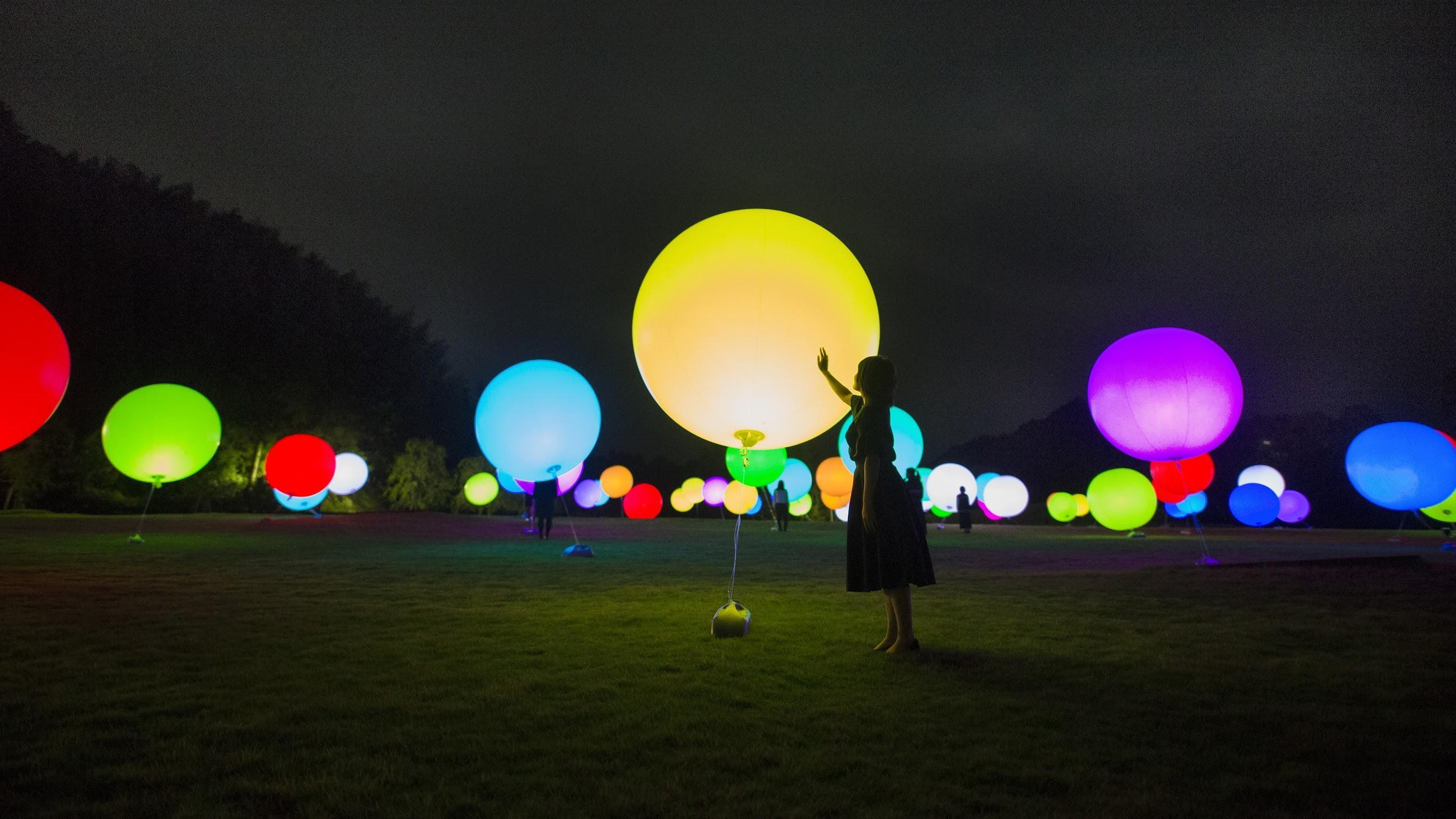 ムーミン施設「メッツァビレッジ」、チームラボと「光のアート空間」イベント開催、12月から冬季限定で