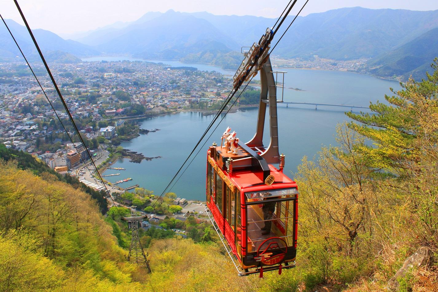 ロープウェイも日時指定でスマホ事前決済、富士山望む展望台へ待たずにアクセス、混雑緩和へ富士急行が開始