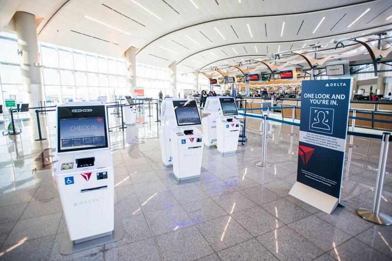 デルタ航空が米国初の顔認証の技術導入、搭乗時間が一人あたり2秒短縮、チェックインや預け入れ荷物カウンターでも