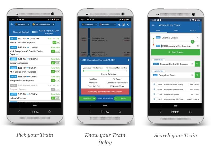 グーグル、インドの鉄道アプリ買収、ネット接続なしで走行中の運行データ取得が可能な人気アプリ