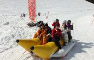 兵庫県に「雪のゆうえんち」がオープン、スキー場に子ども連れや外国人観光客を狙い、雪山ゴーカートなど雪の体験で