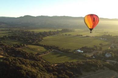 マスターカード、富裕層会員向けに高級タビナカ体験を開始、ナパバレーでの気球など25体験