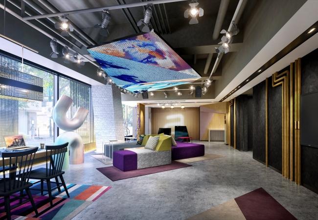 マリオットの次世代型ブランド「アロフト・ホテル」が日本上陸、2020年に東京・銀座に