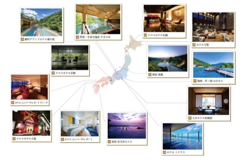 オリックス不動産、宿泊事業で新ブランド「ORIX HOTELS&RESORTS」を立ち上げ、4カテゴリーで個性と滞在スタイルを提案