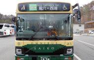 富士急山梨バス、富士五湖エリアの全路線でナンバリング表示、インバウンド対応を強化