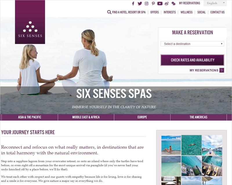 世界の高級リゾート「シックスセンシズ」がIHGグループに、インターコンチネンタルが3億ドルで買収