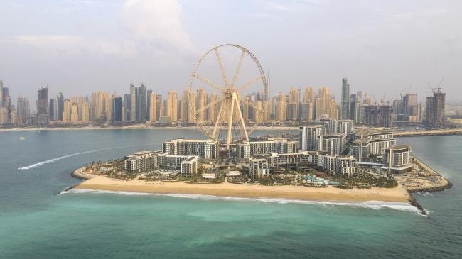 ドバイに新たな人工島、島内に世界一の観覧車や高級ホテルなどが開業へ