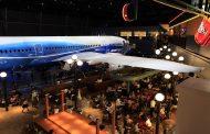 中部国際空港でB787型初号機を夜間ライトアップ展示、今夏にMICE会場と空中回路で接続へ