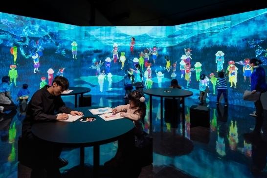 広島県三次市に「日本妖怪博物館」が開業へ、チームラボの「妖怪遊園地」でインタラクティブ作品も