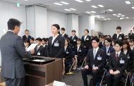 日本旅行、2019年度の新入社員は93名、堀坂代表「一人ひとりが変化を起こして」