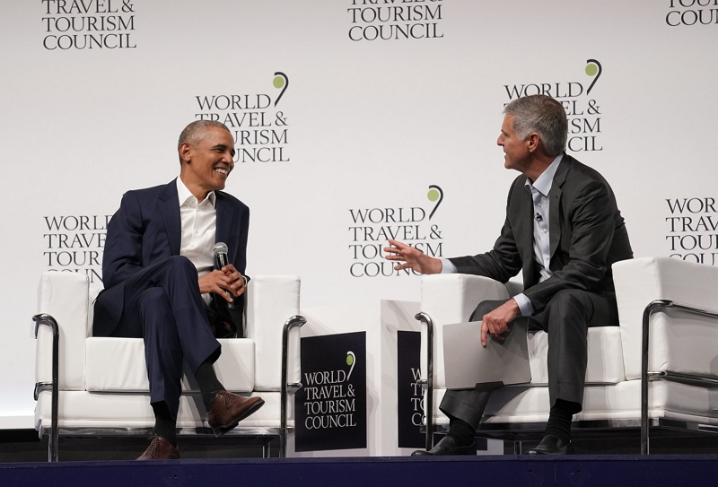 オバマ元大統領、世界旅行ツーリズム協議会で提言、観光業界が政府に求めるべきことは?【外電】