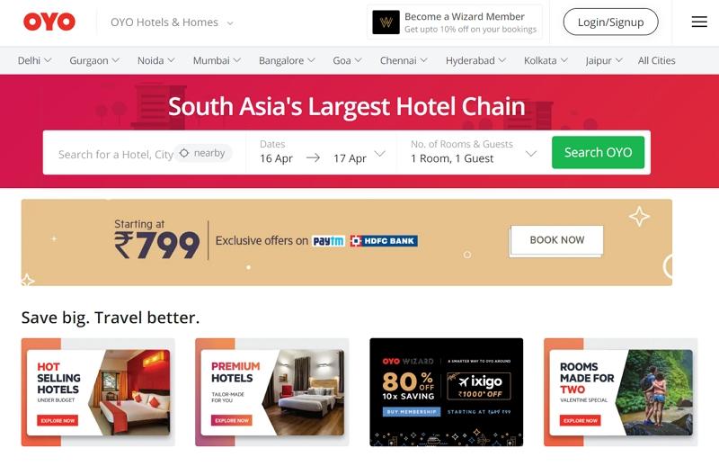 急拡大するホテル「OYO(オヨ)」が世界の旅行6万社への販売ルートを確保、「ホテルベッズ」と提携で