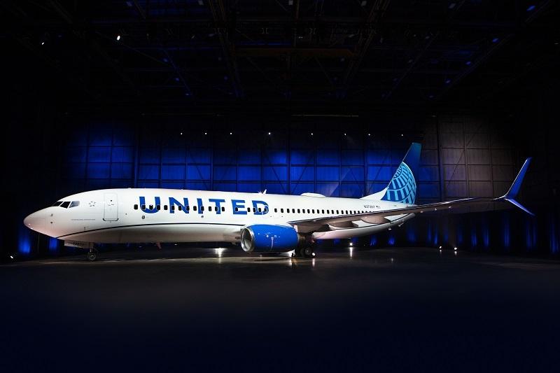 ユナイテッド航空、機体の新デザインを発表、3種類の「ブルー」で伝統とエネルギーを表現