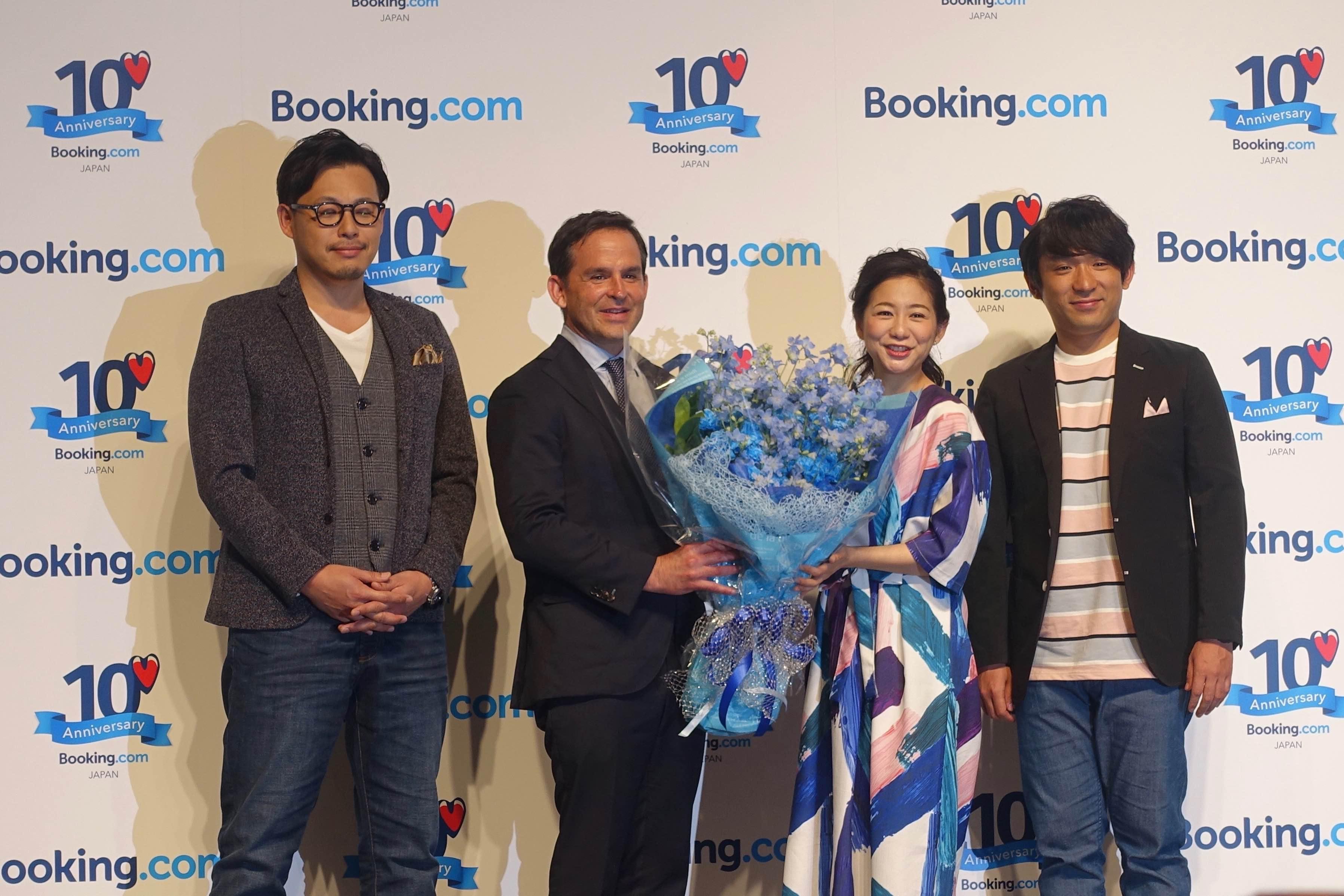 ブッキングドットコム、日本の戦略を発表、「民泊」「タビナカ」事業を加速、日本人ユーザーは世界11位に