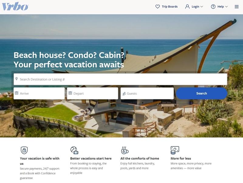 エクスペディア、一棟貸し民泊事業をブランド変更、「ホームアウェイ」から「Vrbo(ヴァーボ)」に統一へ