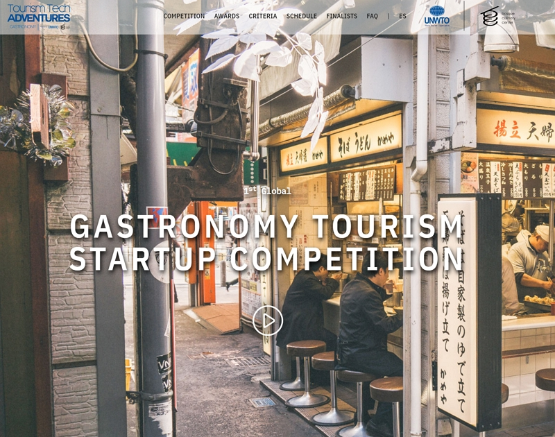国連世界観光機関(UNWTO)主催コンテストで日本企業が優勝候補、「ガストロノミーツーリズム」でブロックチェーン技術を応用
