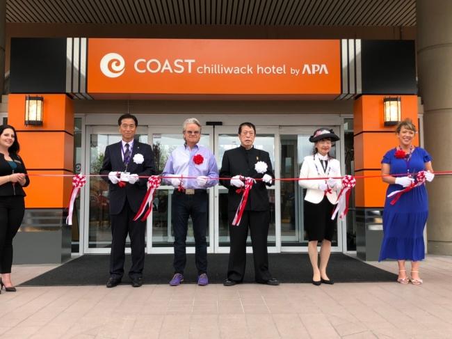アパホテル、カナダで2施設を連日オープン、海外ホテル展開を本格化