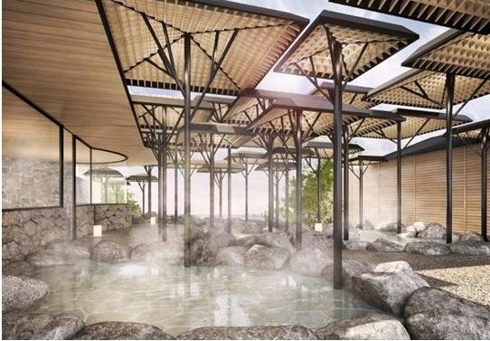 別府に外資系高級ホテルが開業へ、ANAインターコンチネンタルが今年8月に、源泉かけ流し露天風呂・インフィニティプールなど