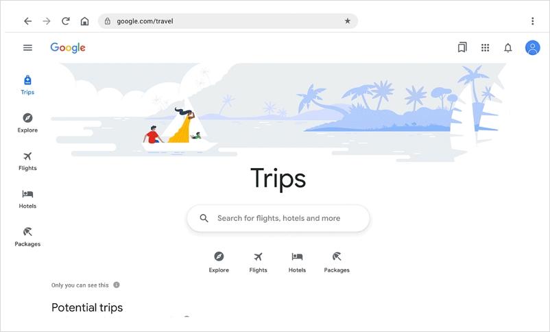 グーグルが旅行分野に本腰、「Google Travel」提供開始、旅行関連サービスを集約し、マップ上で宿泊・飲食予約の拡充も