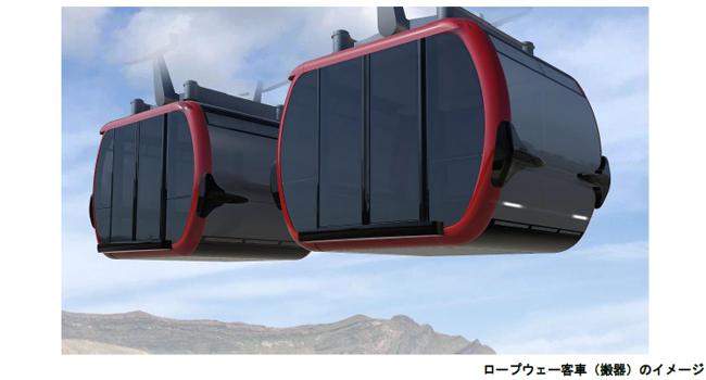 阿蘇山ロープウェーが架替え決定、熊本地震と噴火で被害、新たなシンボルとして2020年度に完成