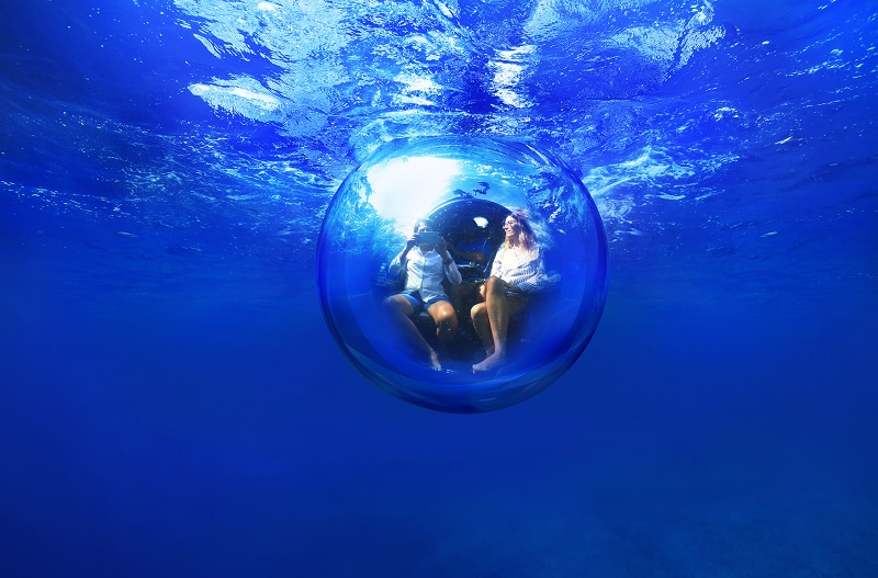 深度100mの「海中旅行」プロジェクトが本格始動、JTBとANAセールも参画、手頃な価格で2021年の開始へ