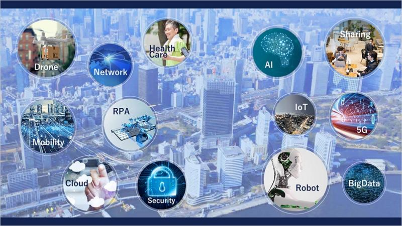 東京・竹芝地区で「スマートシティ」構想、東急不動産とソフトバンクが連携