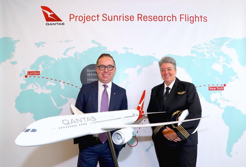 カンタス航空、「約19時間」の定期便就航へ調査飛行、ロンドン/シドニーなど2ルートで人体への影響を測定