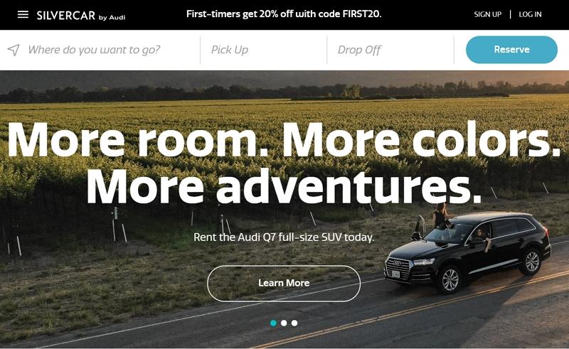 米アウディ、自動車の購入者にレンタカーを無料提供、富裕層の移動ニーズに対応