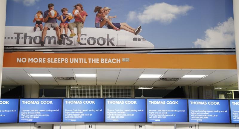 【続報】経営破綻の英旅行会社「トーマス・クック」、欧州各国が対応を開始、混乱状況も明らかに