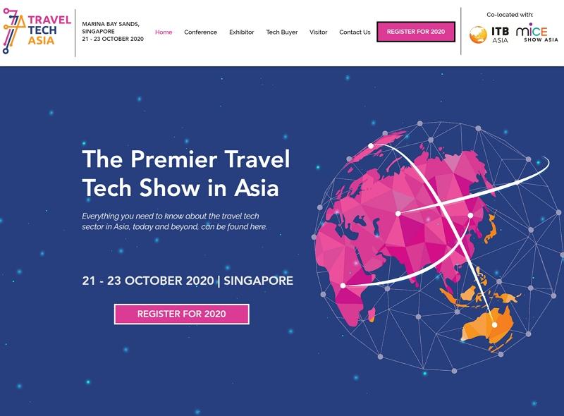 ITBアジアで「トラベル・テック・アジア2020」を初開催へ、来秋にシンガポールで