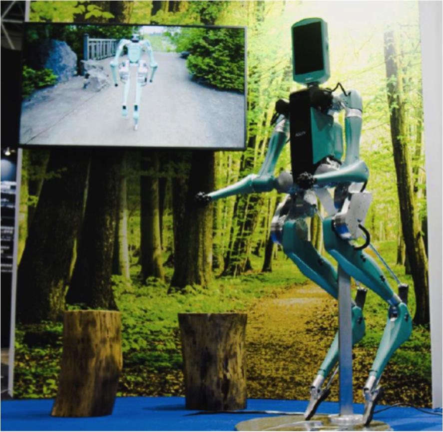 ANA、屋外型アバターのロボット開発で実証開始、米企業と提携で2021年に社会実装へ