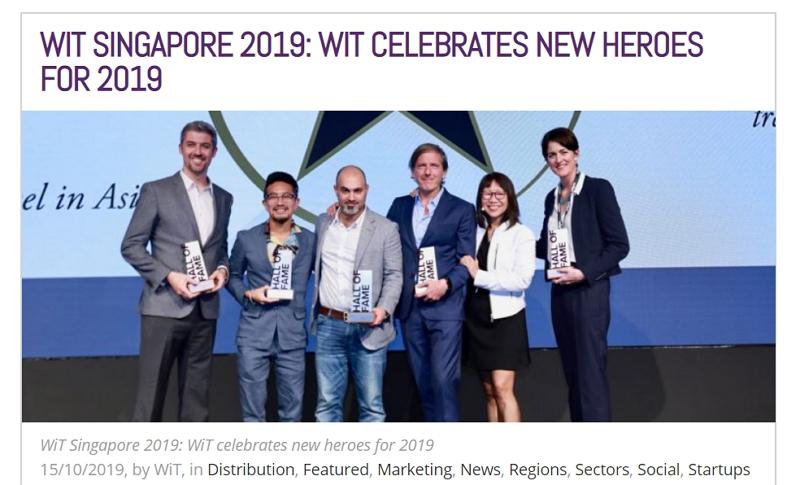 デジタルトラベルに貢献した企業家6人が殿堂入り、国際会議「WiT」が選定、日本からベンチャーリパブリックの柴田氏も