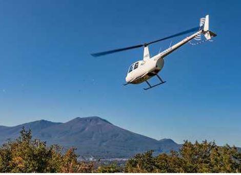 観光地にヘリコプターで直行する移動サービス、今度は軽井沢で実証実験へ、東京から55分