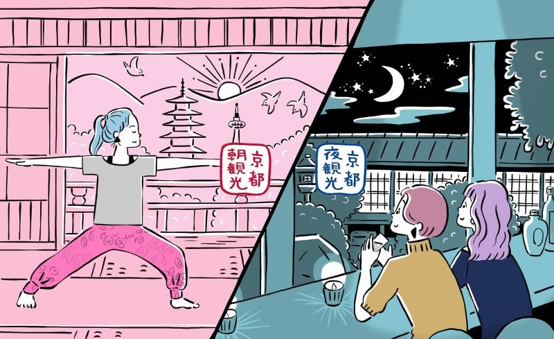 京都市、早朝・夜の観光情報を公式サイトで提供へ、混雑緩和へ時間の分散化を推進