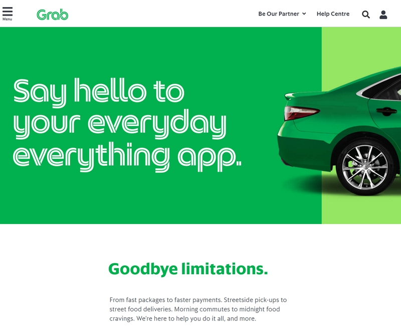 ブッキングドットコム、配車サービスを開始、東南アジアのスーパーアプリ「Grab(グラブ)」と連携