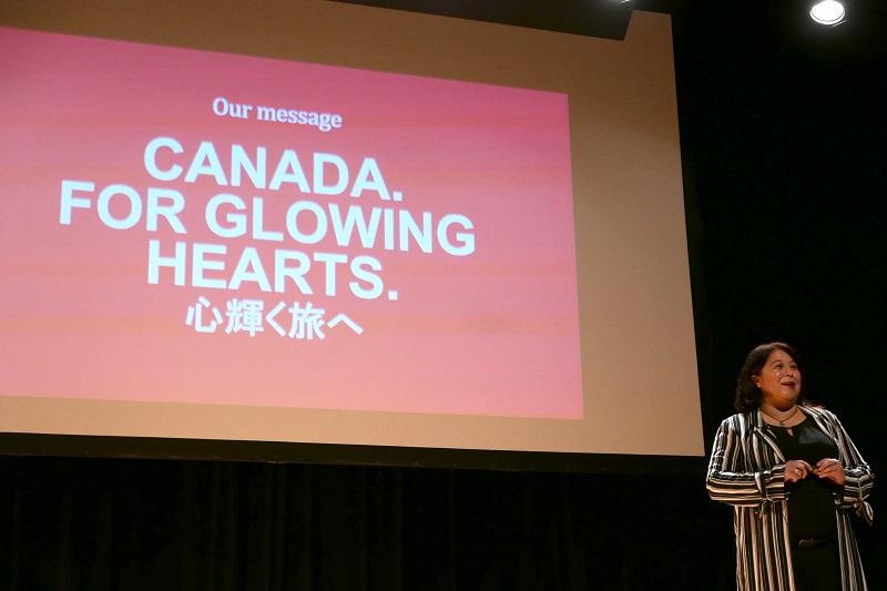 カナダ観光局、新ブランドを日本でお披露目、日加修好90周年にあわせた関係者来日で