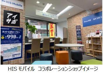 HIS、新店頭で海外旅行の予定客にSIMカード提供を開始、ドローンレンタルやiPhone修理サービスも