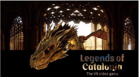 スペイン・カタルーニャ州、プレステ4で遊べるVRゲーム制作、バルセロナ郊外への旅を訴求