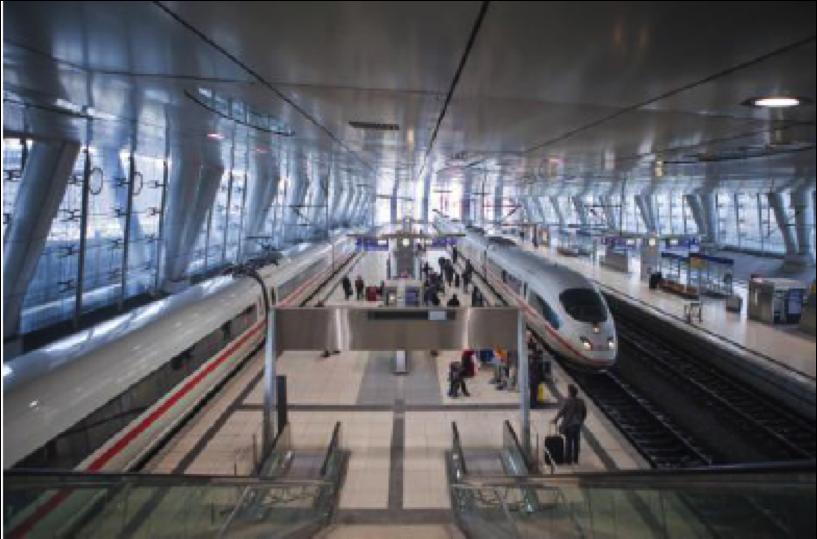 独フランクフルト空港行きの急行鉄道が12月中旬に増便、航空券との組み合わせ予約可能でアクセス向上に