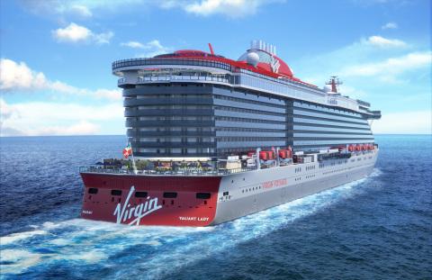 英ヴァージンの2隻目のクルーズ客船、バルセロナ母港で地中海クルーズを2021年に実施へ