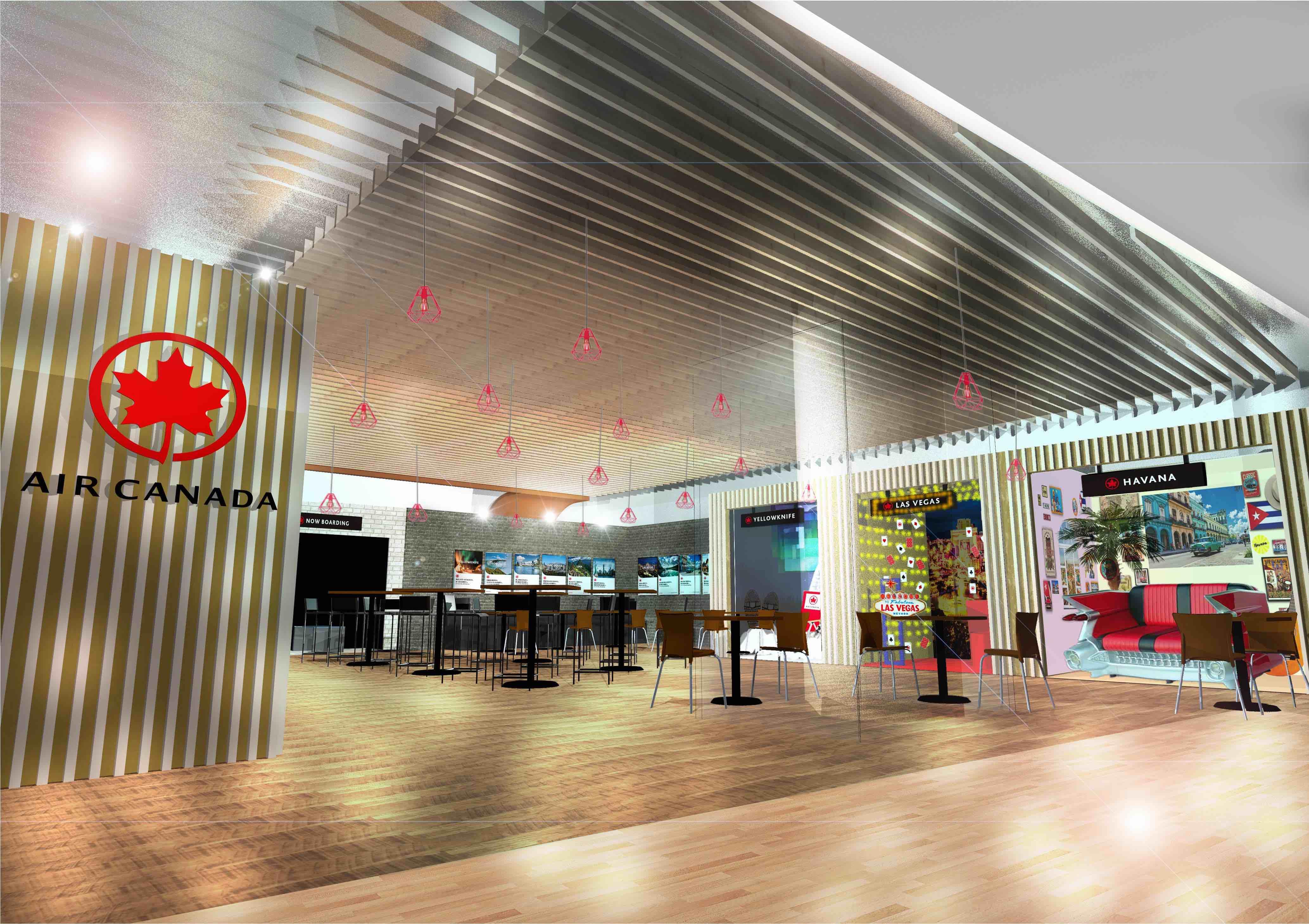 エア・カナダ、六本木ヒルズに期間限定カフェ、就航10都市をモチーフにした伝統料理を提供