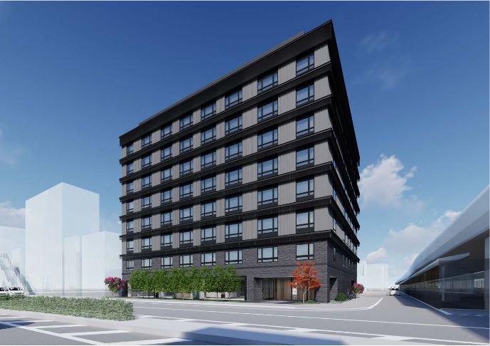 京都・東寺駅前に新ホテル、2021年春に開業へ、観光地とビジネスエリアに繋ぐ拠点に