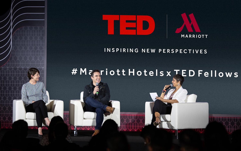 マリオット・ホテル、シンガポールで「TEDフェローサロン」開催、テーマは「型にとらわれない創造性と思考」