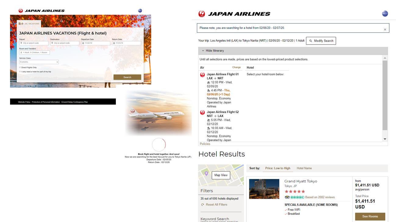 ジャルパック、インバウンド向け「航空券+ホテル」販売でエリア拡大、来年度にはタビナカ商品も発売へ