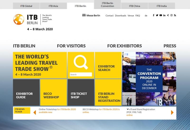 【開催中止の追記あり】世界最大級の観光産業向け国際会議「ITBベルリン」、「未来のスマートツーリズム」に焦点、2020年3月に開催(PR)